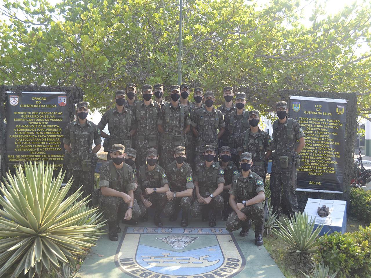 Núcleo de Preparação de Oficiais da Reserva do 22º Batalhão de Infantaria realiza instruções e visitas às Organizações Militares da Guarnição de Marabá (PA)