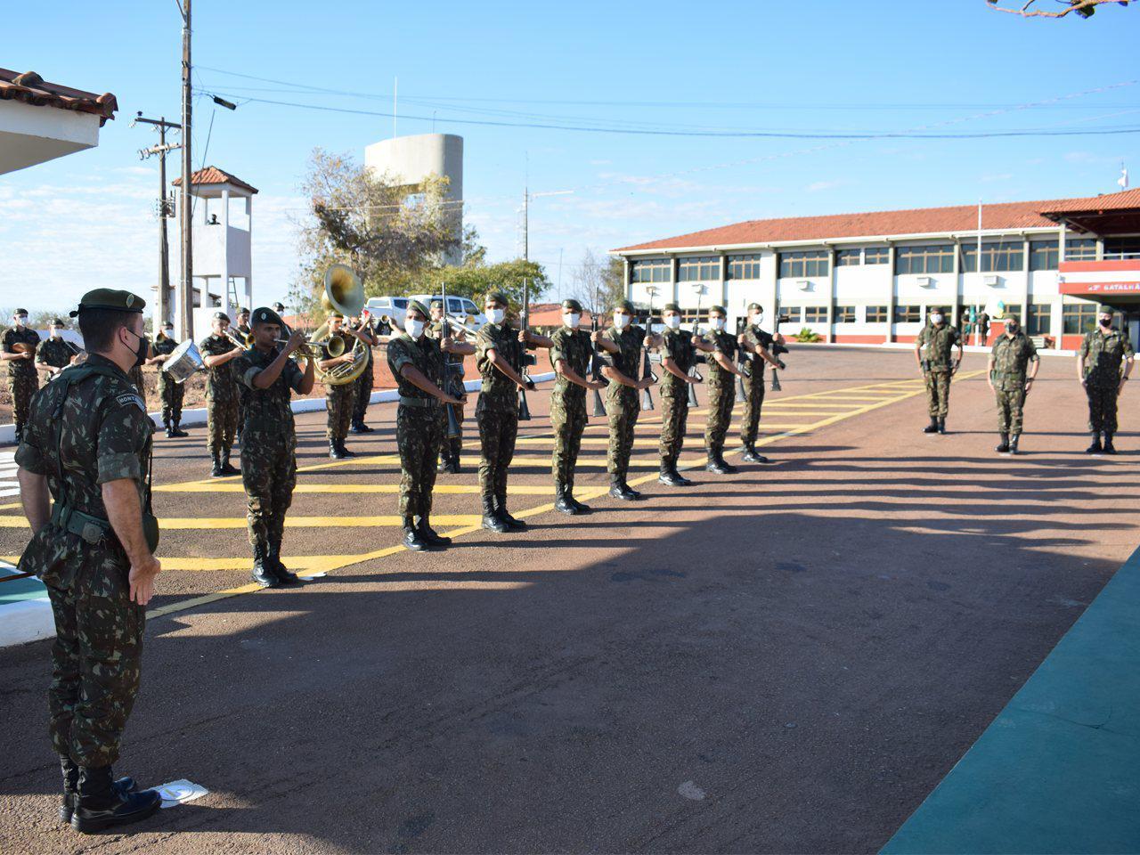 22º Batalhão de Infantaria recebe Visita de Orientação Técnica do Comandante da 3ª Brigada de Infantaria Motorizada